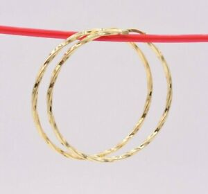 2-1-4-034-55mm-Twisted-Shiny-Round-Hoop-Earrings-14K-Yellow-Gold-Clad-Silver-925