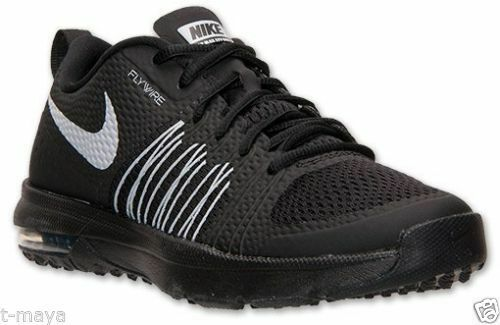 Nike Air Max Ltd 3 Mens 687977 020 Triple Black Leather Running Shoes Size 11