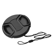 55mm Front Lens Cap Hood Cover Snap-on For Canon Sony Olympus Nikon Camera