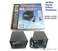 New 200 W Watt Step Up/Down Voltage Converter Transformer Adapter 110V to 240V