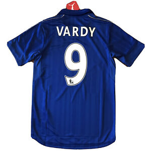 2016/17 Leicester City Home Jersey #9 Vardy Small Puma ...