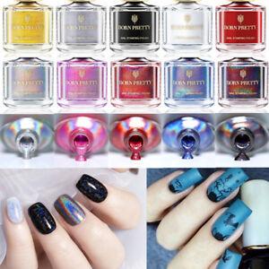 6ml-BORN-PRETTY-Nail-Art-Stamping-Polish-Holographic-Thermal-Pringting-Varnish