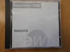 PROMO CD: eastwest music news September 1992
