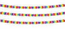 4M Summer Party Clover Multi Rainbow Decoration Flower Bunting Garland