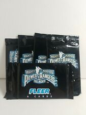 POWER RANGERS Error PACK Unopen Half Print 1995 Fleer Ultra the Movie Cards Rare