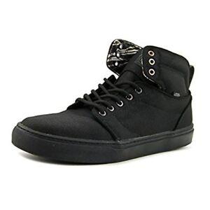7a4587b557 Vans Hi-Top Alomar Heavy Canvas Black Black Canvas Sneaker Shoes Men ...