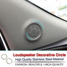 OPEL Mokka Adam Lautsprecher Blenden Rahmen Abdeckung Edelstahl Speaker Cover