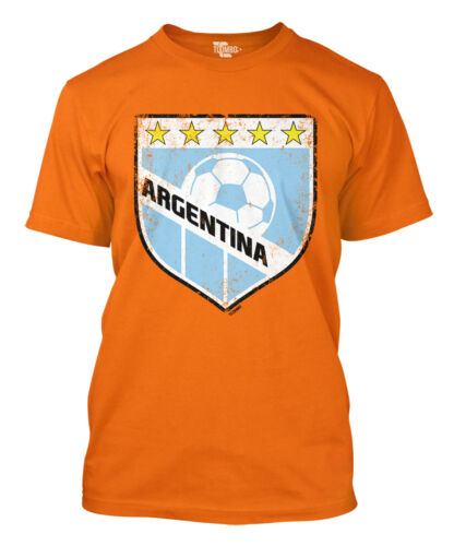 Argentina Soccer Badge World Cup futbol football Olympics Mens T-Shirt