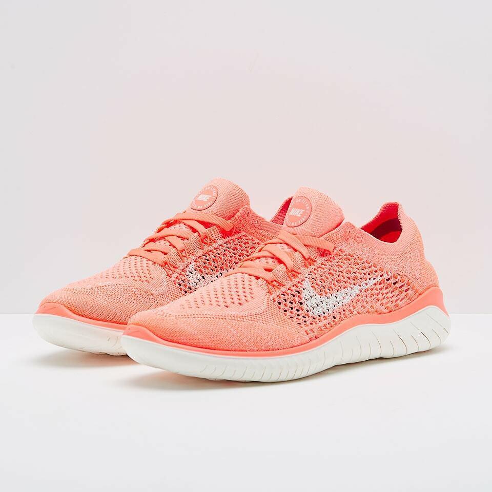 Nike Wmns Free RN Flyknit 2018 Running schuhe 942839-801 Größe 8 UK
