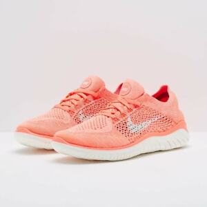 Details about Nike Wmns Free RN Flyknit 2018 Running Shoe 942839 801 Size 8 UK