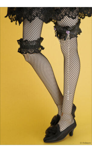 Black Dollmore BJD SD Stocking Chain Lace Band