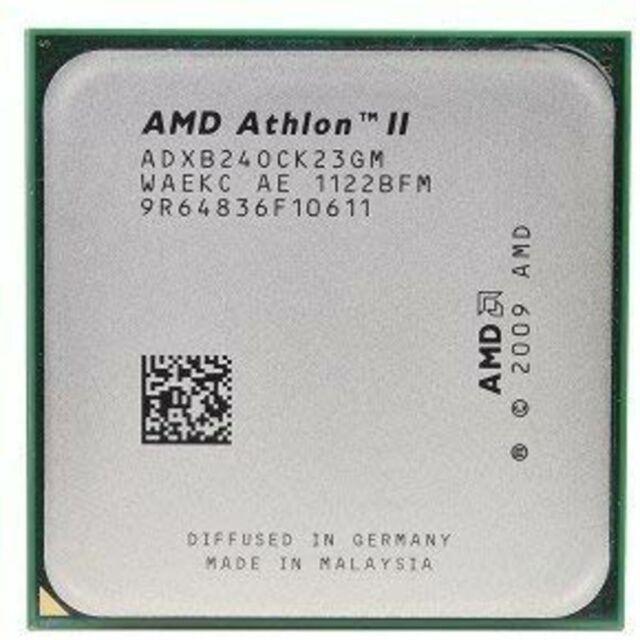 ADXB26OCK23GM LOT OF 2 AMD Athlon II  X2  3.2GHz  B26 DUAL CORE  PROCESSOR AM3