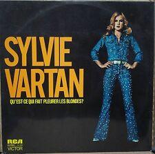 SYLVIE VARTAN 1976 Qu´est ce Qui Fait Pleurer Les Blondes? RARE LP BRAZIL BRESIL