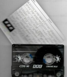 used cassette - BBC CHROME C90 - type II - used tape