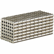 5 100pcs Super Strong Cylinder Round Magnets 5 X 10mm Rare Earth Neodymium N52