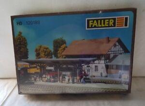 Faller-ueberdachte-Plattform-HO-120189-Made-in-Germany-New-Sealed-Box