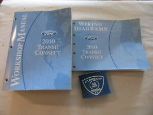 2010 FORD TRANSIT CONNECT SERVICE SHOP REPAIR MANUAL AND ...