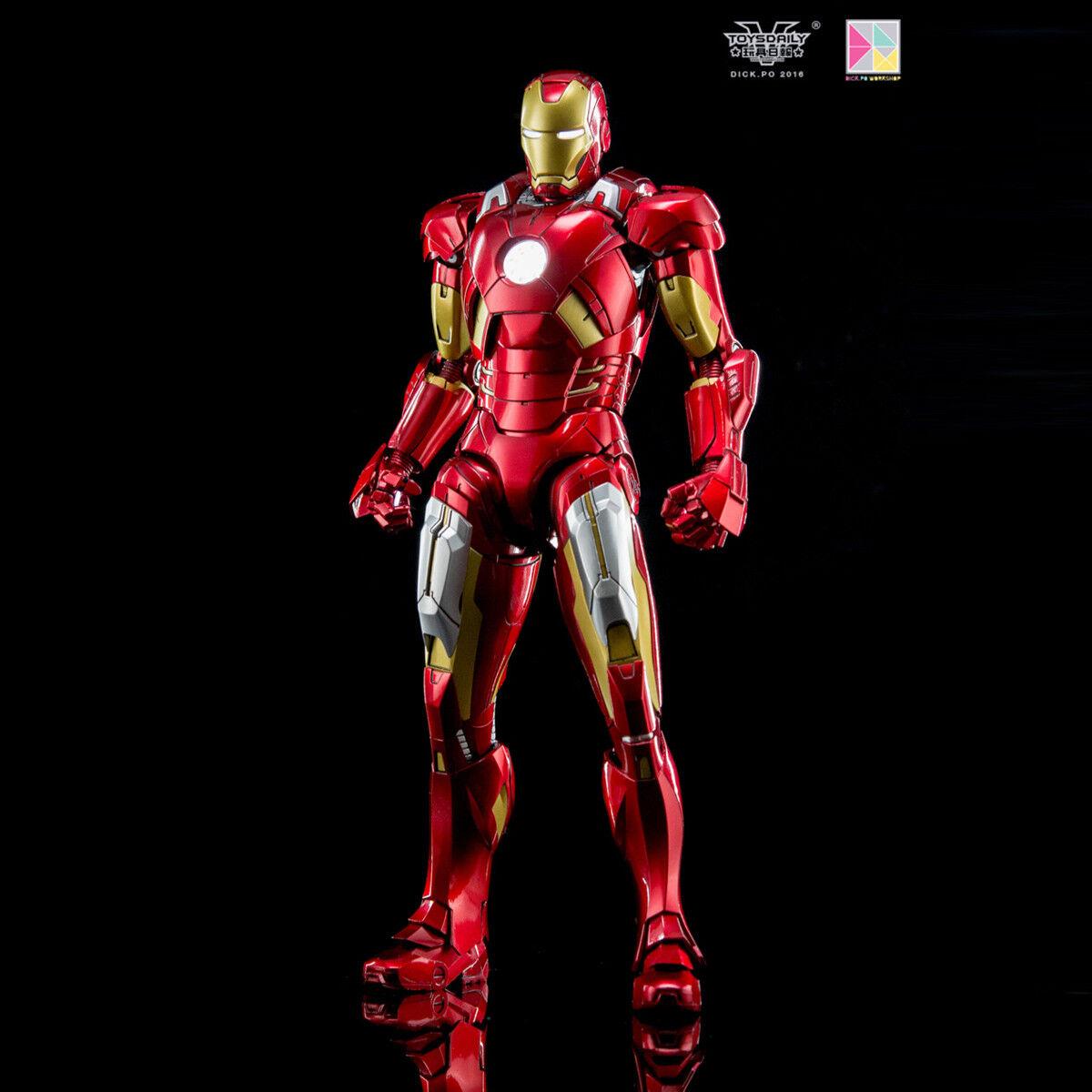 King Arts DFS013 1 9 Escala Figura De Acción Iron Man Mark 7