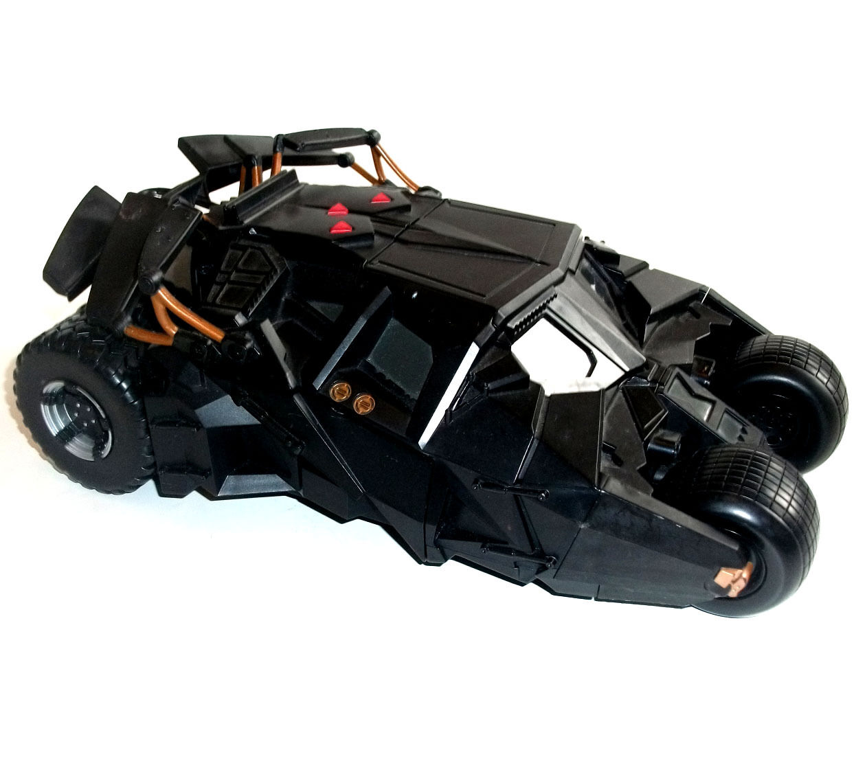 DC Comics Large BATMAN TUMBLER BATMOBILE CAR TOY use with 5  figures, with Sound