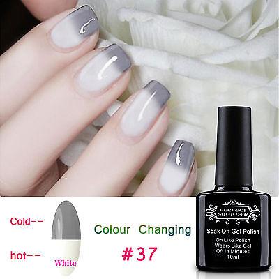 Manicure Art Color Temperature Change UV Led Soak Off Gel Nail Polish Varnish