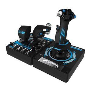 NEW-Logitech-G-Saitek-PRO-Flight-X56-Rhino-Joystick-Controller-for-PC-Warranty