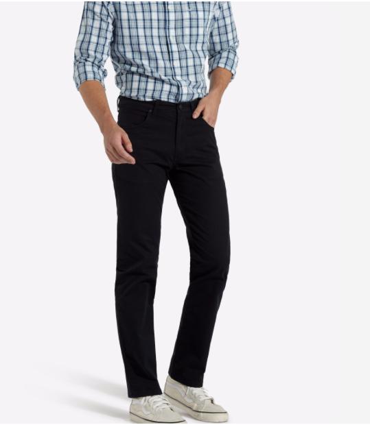 Wrangler® ARIZONA Chino Fabric Jeans Navy - 40 30 SRP  NEW SS19