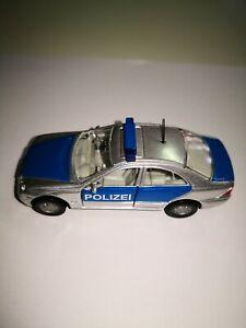Siku-n-1375-mercedes-benz-c-320-policia-sin-OVP-sin-usar-de-coleccion