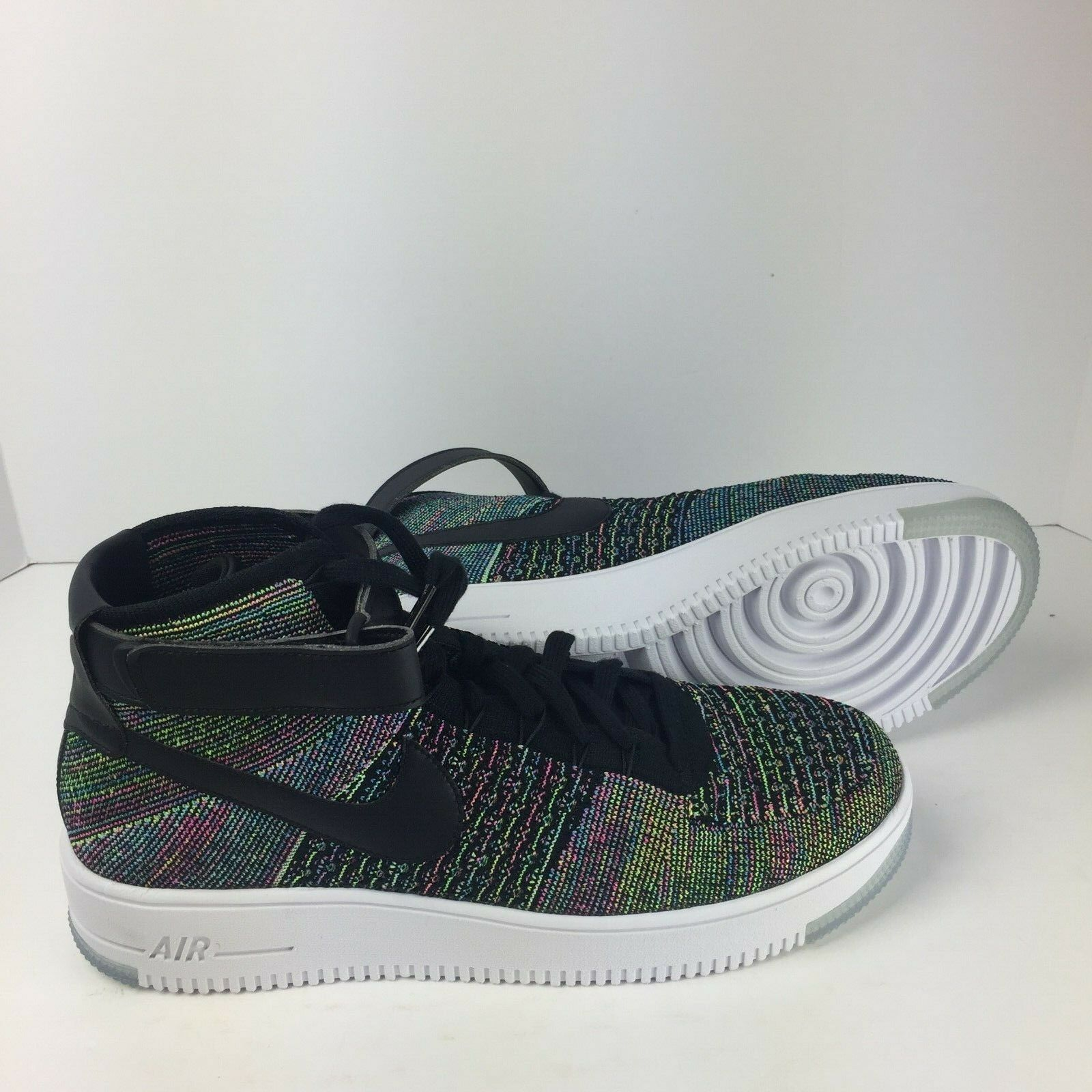 NEW NIKE Air Force 1 1 1 AF1 Ultra Flyknit Mid shoes size 10 817420 601 201a30
