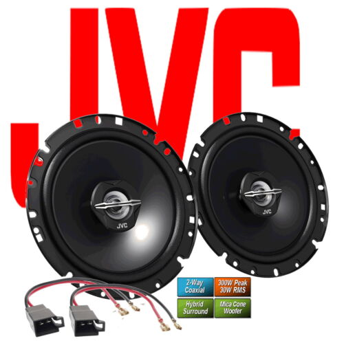JVC Lautsprecher für VW VENTO  1992-1998 Türen hinten 300 Watt 1720X