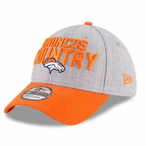 Denver Broncos Hat 2018 NFL Draft On Stage 39THIRTY New Era Flex-fit ... 617c379d3