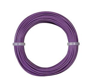 Viessmann-6867-Anillo-de-Cable-0-14-MM-Lila-10-M-M-Nuevo