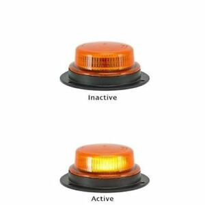 LED-Autolamps-LRB130-12-24-Volt-Rotating-Effect-Beacon