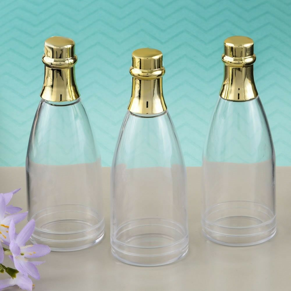 150 or Champagne Bottle Candy Boxes Wedding Bridal Baby Shower Party Favors