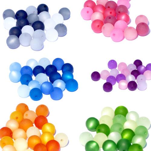 20 Stück Polarisperlen rund Perlenmix Perlenmischung 6-14 mm original Polaris