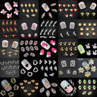 Charm 10pcs 3D Nail Art Tips Decoration Glitter Crystal Rhinestone Alloy Jewelry