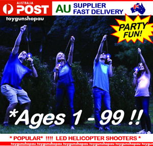 12 Pack Glow Stick Shooters LED Helicopter Shooters Party Games Kids Gun Party