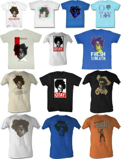 5XL Buckwheat Official T-Shirt from The Little Rascals Big Hair Adult Tee SM