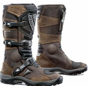 Mens-FORMA-Adventure-Boots-Touring-Dual-Sport-Motorbike-Motorcycle-Brown
