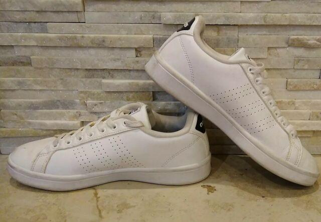 Size 7 - adidas Cloudfoam Advantage Clean White