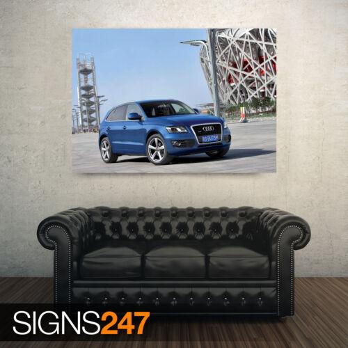 AD053 AUDI Q5 3.0 TDI QUATTRO CAR 10 CAR POSTER Poster Print Art A0 A1 A2 A3