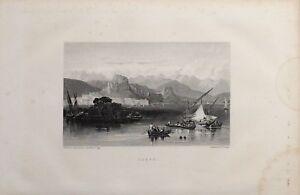 1885 Aufdruck Corfu