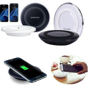 Qi-Wireless-Rapida-Caricatore-Caricabatterie-Pad-Per-Samsung-Galaxy-S7-S7-Edge