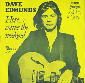 DAVE-EDMUNDS-Here-Comes-The-Weekend-As-Lovers-Do-SWAN-SONG-1976-rock