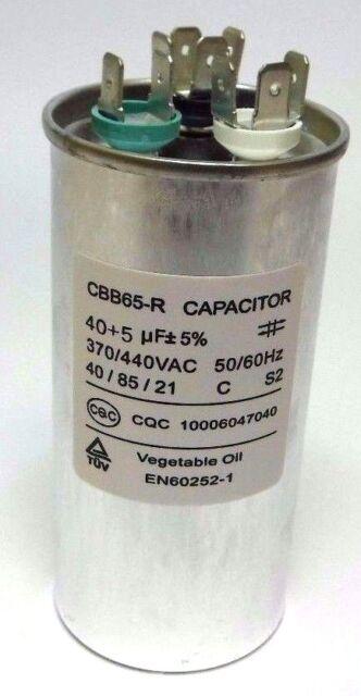 30uF MFD 370 V 440 V 370//440 VAC Oil Filled Motor Run Capacitor CBB65 45x85mm