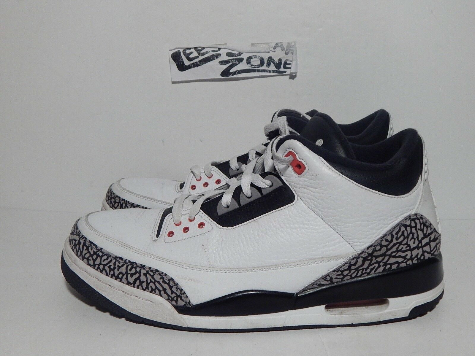 competitive price dd5f0 793b4 2014 nike nike nike air jordan 3 rétro de race noire infrarouge sz 13 88  136064