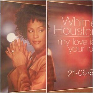 2-PANEL-80X120-034-HUGE-SUBWAY-POSTERS-Whitney-Houston-My-Love-Is-Your-Love-1999