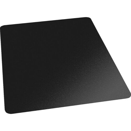 26991 Staples 36x48 Low-Pile Chair Mat Black No Lip 1174250