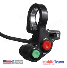 """7/8"""" Motorcycle Atv Pit Bike Horn~Lights~Turn Signals Switch On/off Button"""