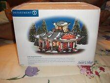 DEPARTMENT 56 SNOW VILLAGE LUCKY DRAGON RESTAURANT NIB *Still Sealed*