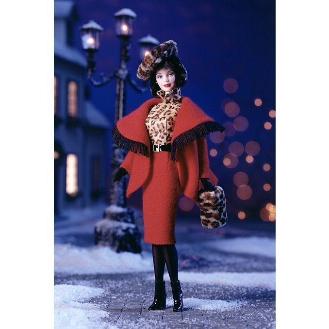 BARBIE DA COLLEZIONE Inverno a Montreal ™ Barbie® Doll  MATTEL NUOVA 22258